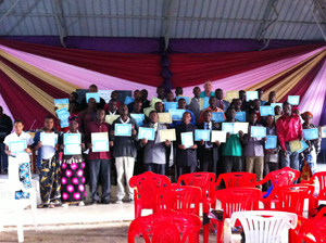 Bible Seminar Graduation Day  62 Trained and 1,000 NTs Distributed